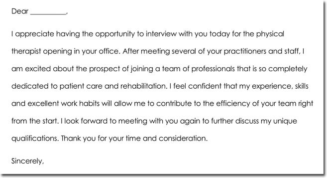 8+ Job Interview Thank You Note Templates  Wording Ideas - thank you for the opportunity to interview