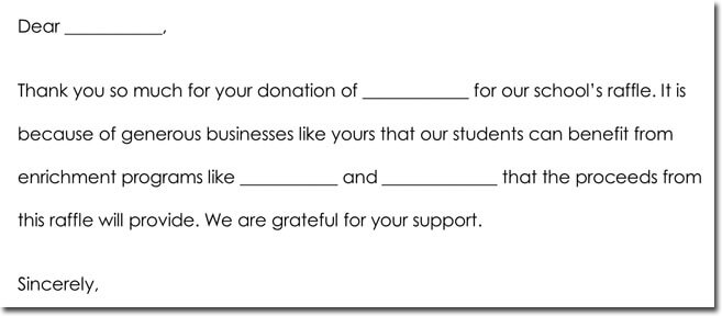Donation Thank You Note Samples, Formats  Wording Ideas
