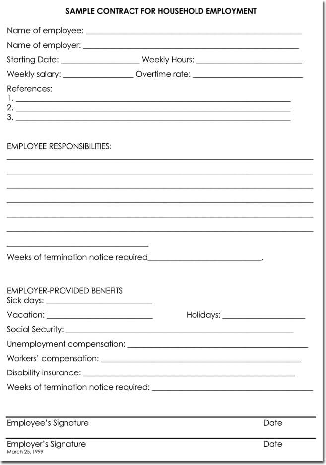 employee termination letter template - Intoanysearch
