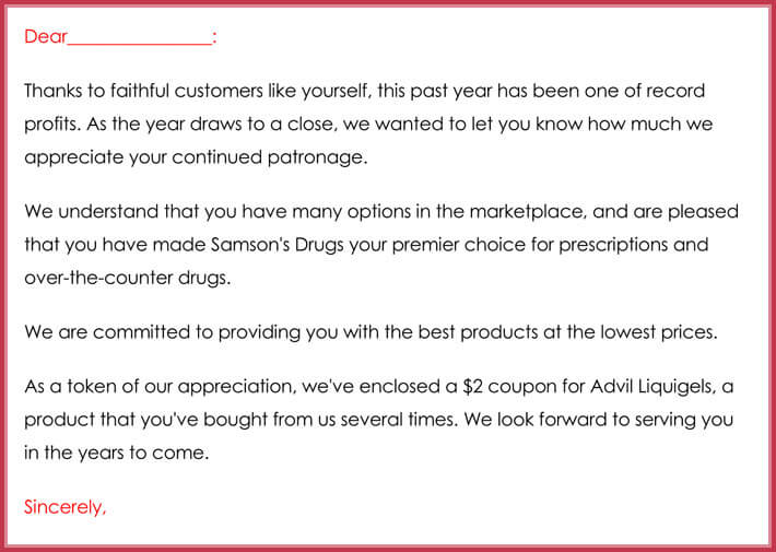 Customer Thank You Email - Best Samples, Examples  Writing Tips