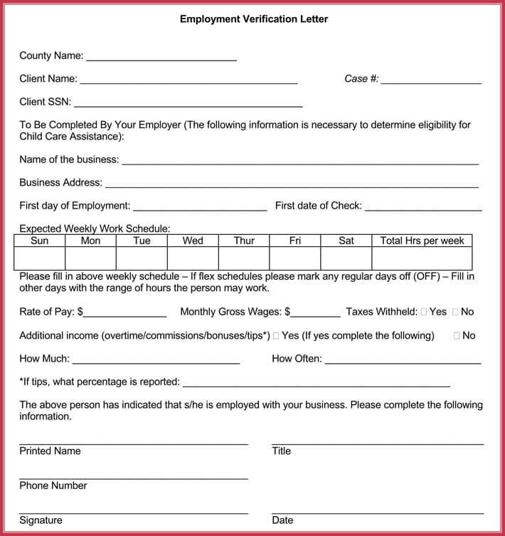 Income Verification Letter - 6+ Samples  Formats - income verification letter