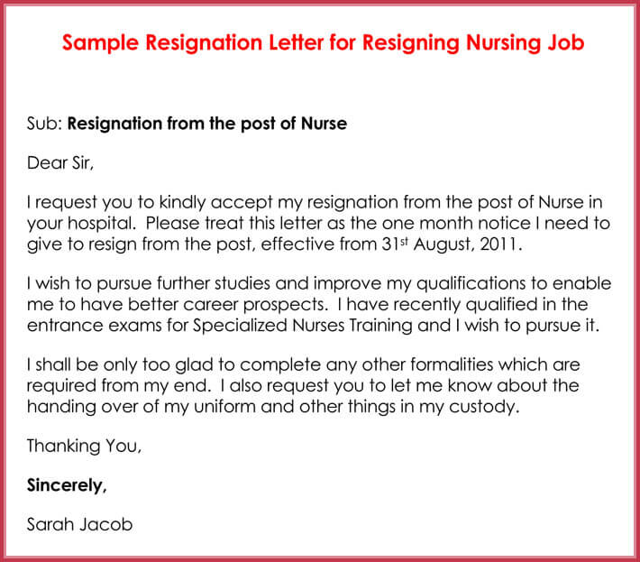 How to Write a Resignation Letter (with 10+ Professional Samples)