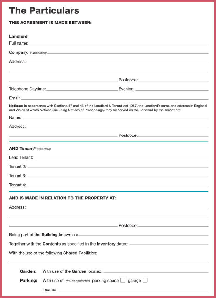 Month to Month Rental Agreement Forms, Templates (doc, pdf)