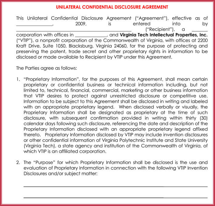 Mutual Confidentiality Agreement - 5+ Professional Templates, Examples - mutual confidentiality agreement