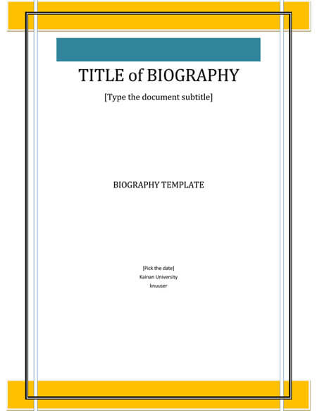 How to Research and Write a Biography (with 40+ Biography Examples)