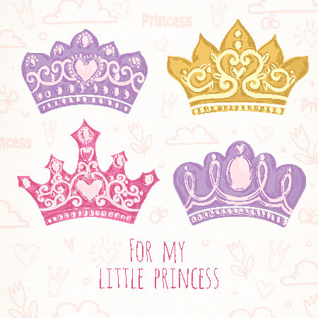Paper Crown Templates for Prince, Princes (Print  Cut at Home)