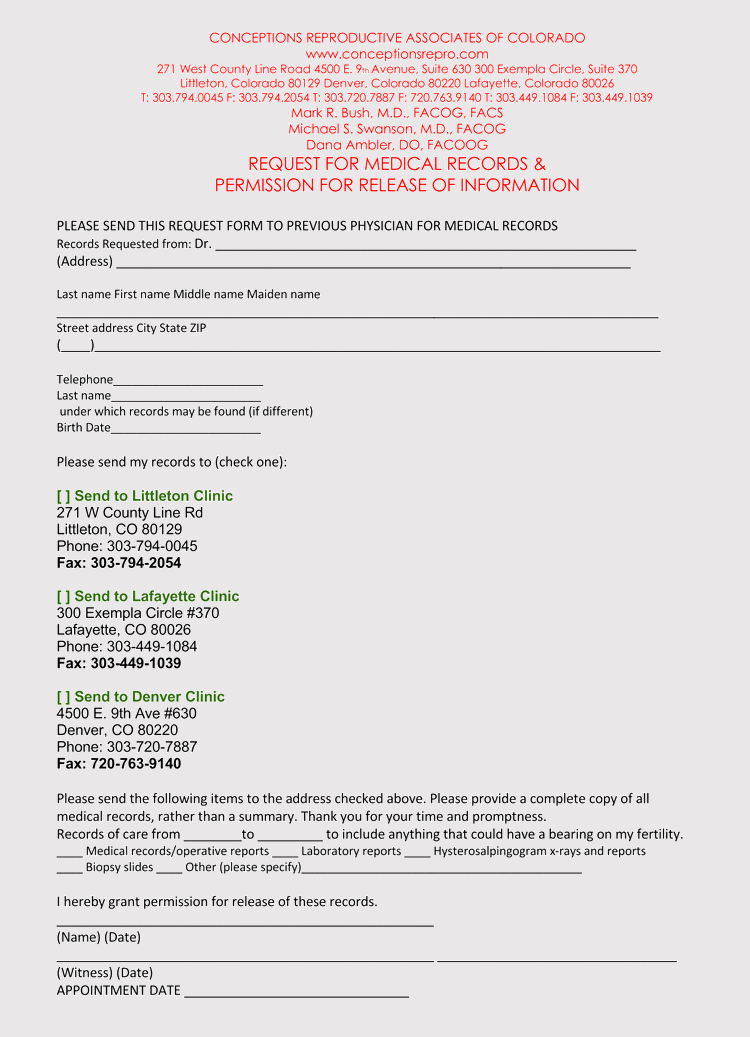 medical charts pdf