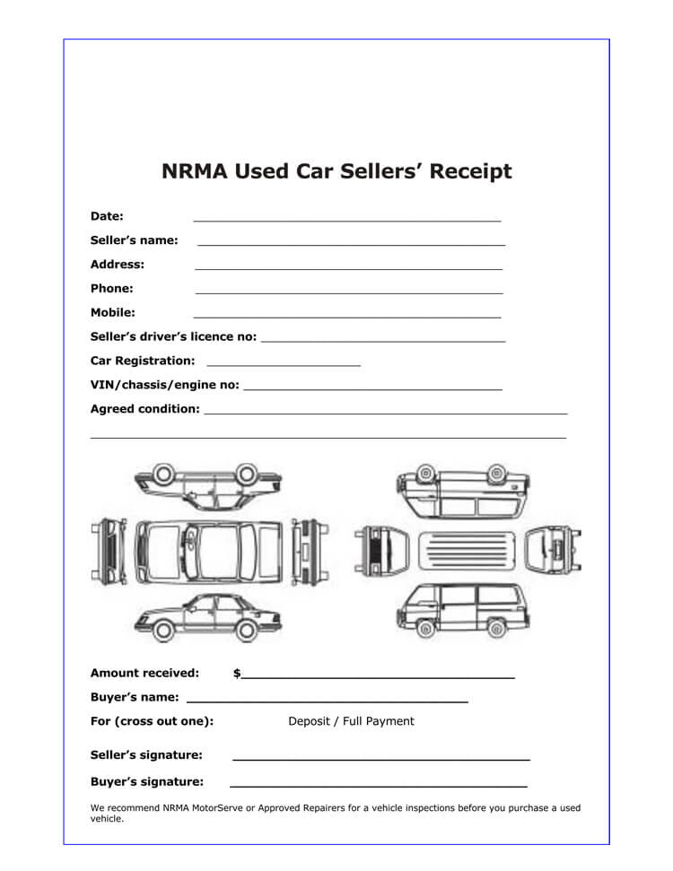12+ Free Sales Receipt Templates (Word, Excel, PDF)