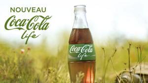 Lancement de Coca cola life en France en 2015