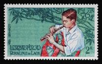 boy-playing-flute-vintage-postage-stamp-print-andy-prendy