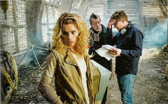 Gallifrey Falls No More Wallpaper The Day Of The Doctor Behind The Scenes Pics Doctor Who Tv