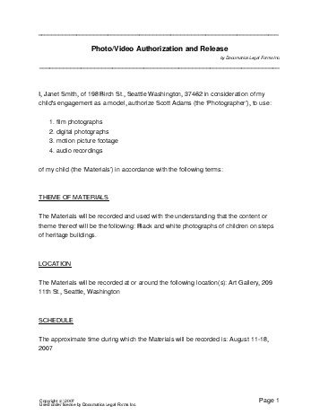 Material Release Form Free Liability Release Form Unconditional - legal release form template