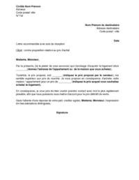 Exemple Lettre Contre Proposition Salaire Exemple De Lettre