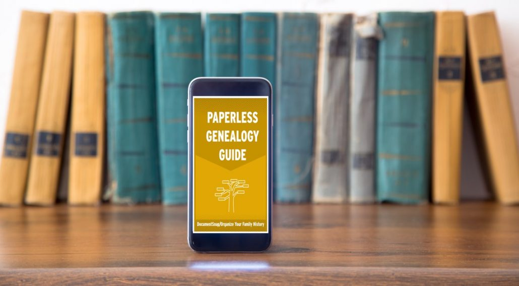 Genealogy Archives \u2022 DocumentSnap Going Paperless and The