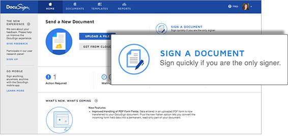 Online Signature DocuSign
