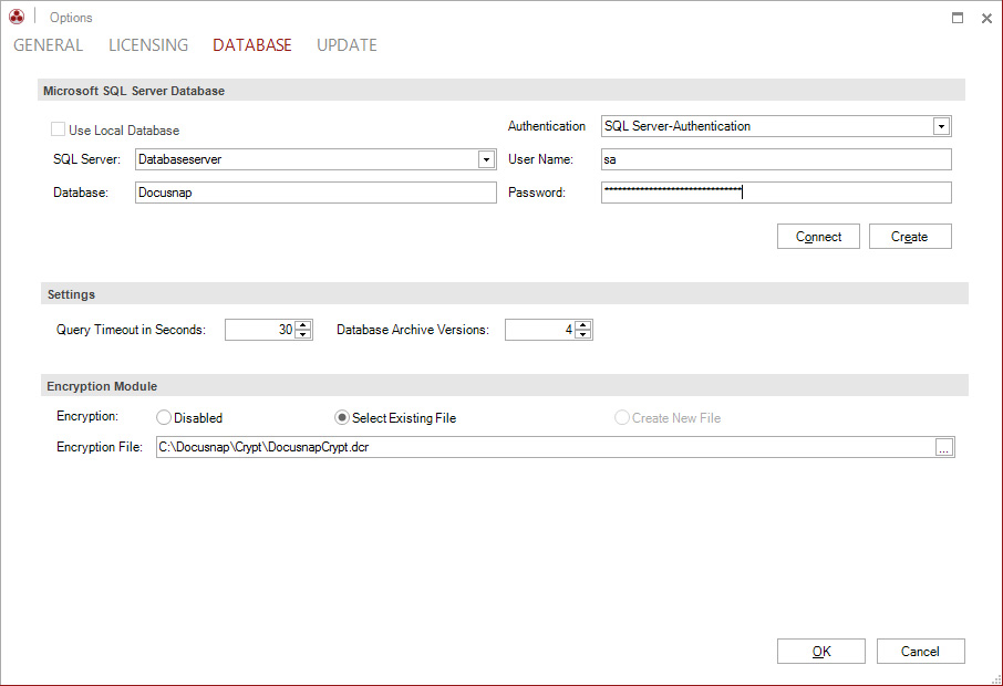 What has Changed With the Inventory Databases for Docusnap Version 62 - how to create an inventory database