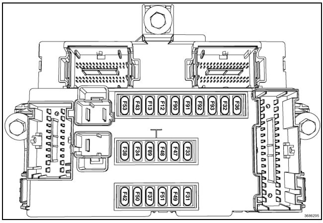 2013 chrysler 200 interior fuse box diagram