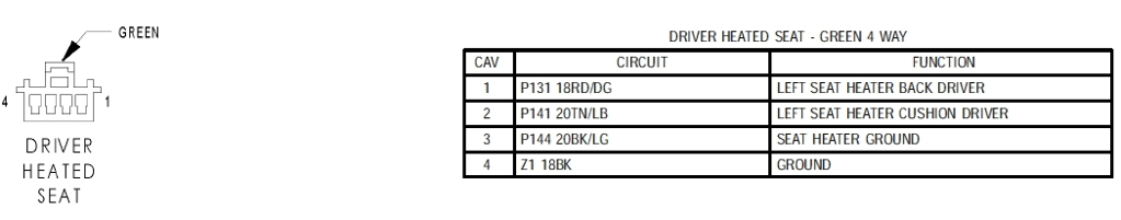 Need help with wiring in heated seats