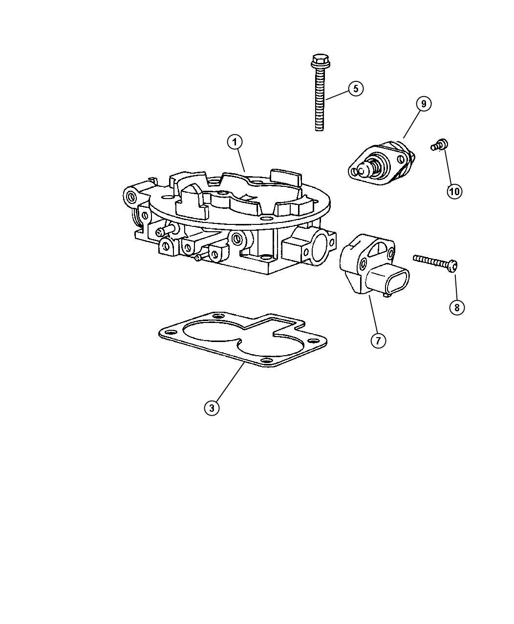 dodge 2 4 engine diagram throttle position sensor