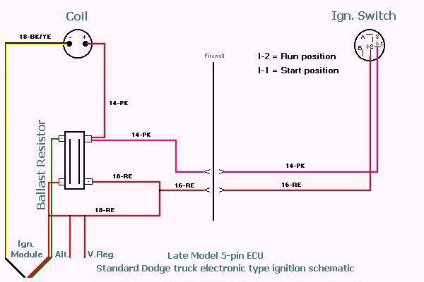 Chrysler Electronic Ignition Wiring Wiring Diagram