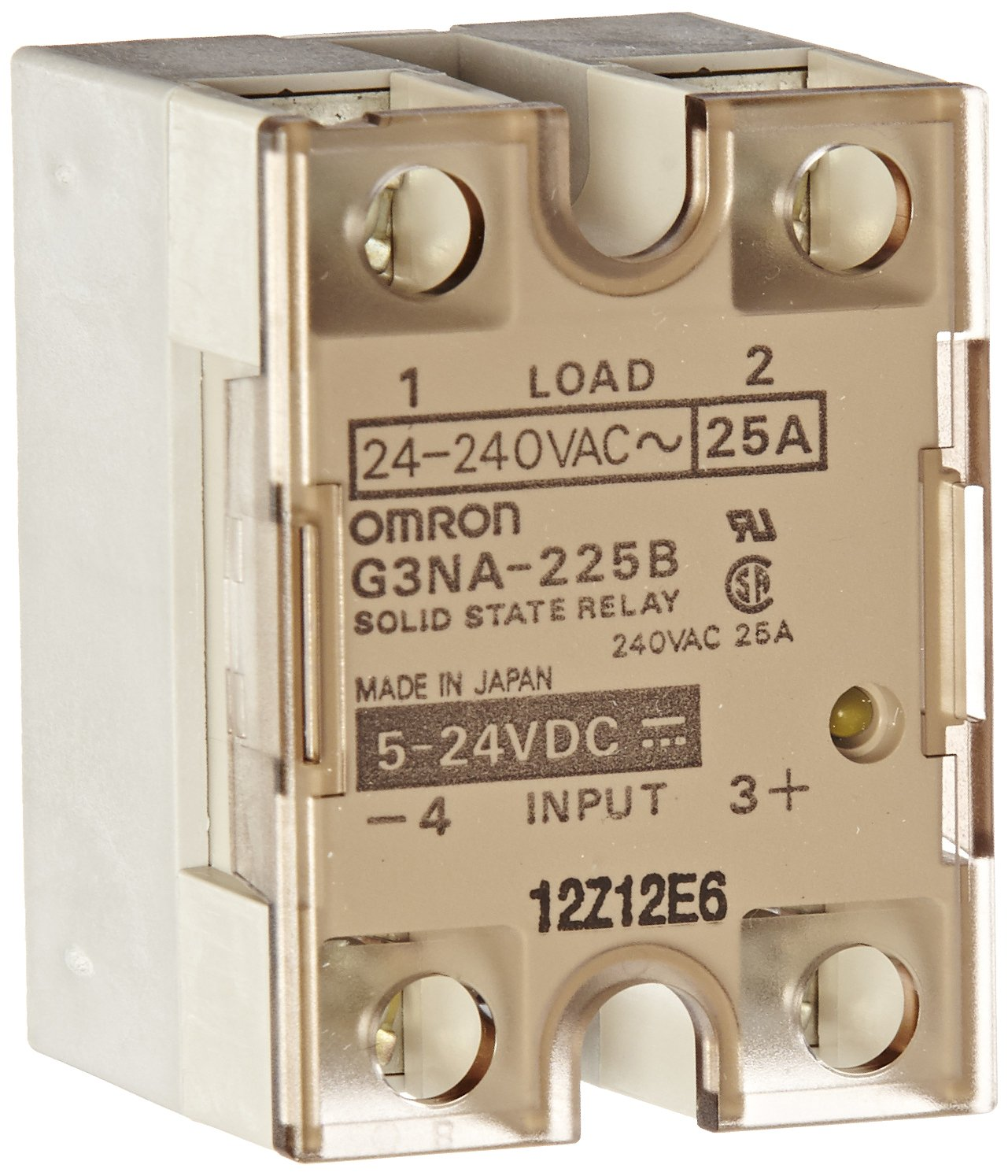 2017 Solid State Relay Omron G3na 225b 240b Ssr Auto Ormron Wiring Diagram