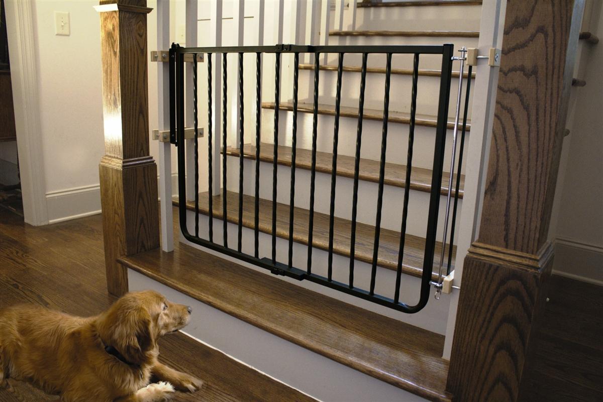 Wrought Iron Decor Gate Black 27 To 425w Dogfolks