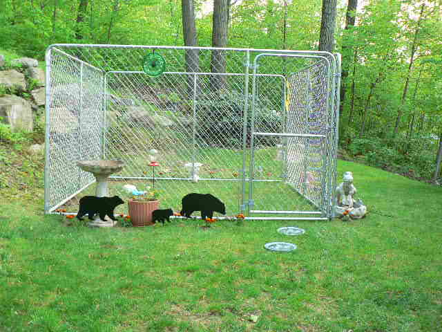 Kennel For Play Areaneed Ideas For Floor