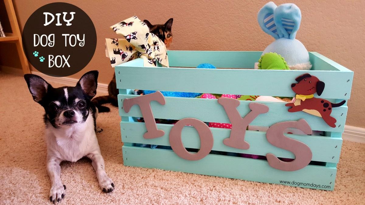 DIY Dog Toy Box