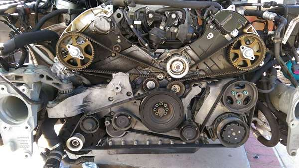 How To Replace Timing Belt On A8 D3 \u2013 Audi