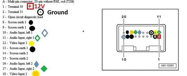 audi mmi navigation wiring diagram
