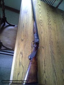 16 gauge D. M. Lefever 9F Double Barrel Shotgun