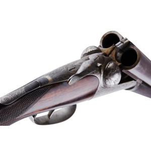 12 BORE DICKSON ROUND ACTION SPORTING EJECTOR SIDE-BY-SIDE SHOTGUN CIRCA 1898