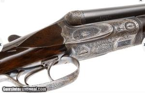 HEYM PRE WAR SXS DOUBLE RIFLE 405 WINCHESTER