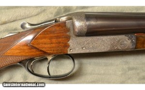 Joseph Defourny Side By Side 12 Ga Boxlock Shotgun