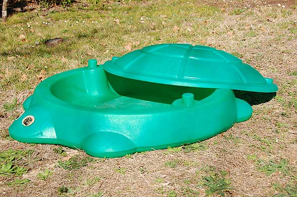 Using A Child39s Sand Box For Dogs