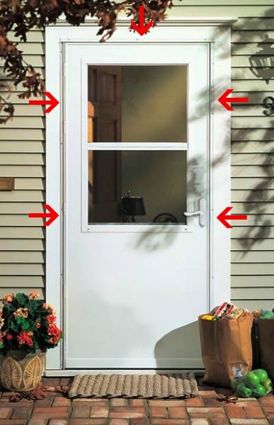 Installing A Wooden Storm Door In An Existing Frame   D'Oh!-I-Y