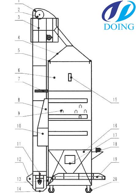 elevator governor diagram