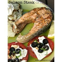 Small Crop Of Salmon Steak Recipe
