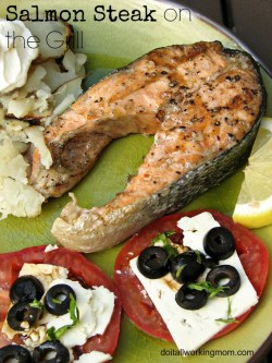 Frantic Do It All Working Mom Salmon Steak On Grill Salmon Steak On Grill Do It All Working Mom Salmon Steak Recipe Jamie Oliver Salmon Steak Recipe Lemon
