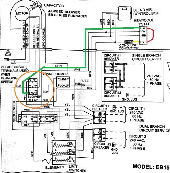 wiring a heat pump for air conditioning only