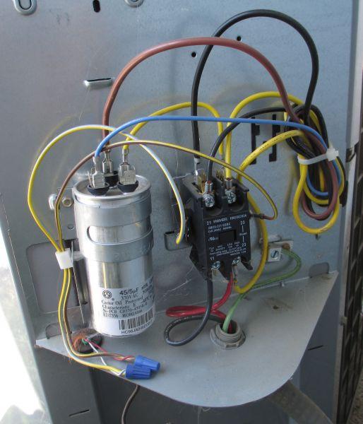 ac condenser unit wiring diagram