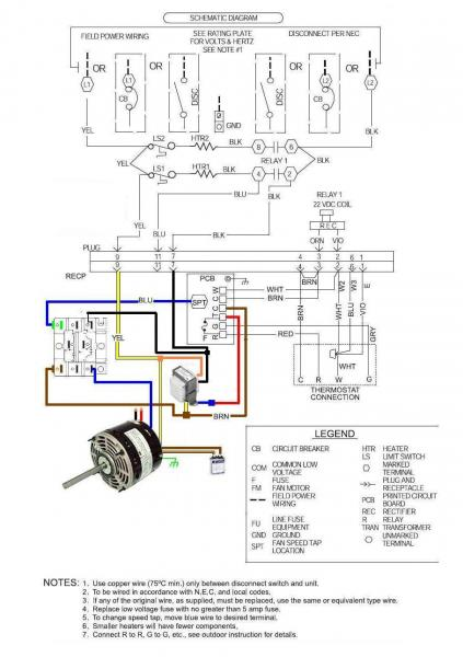 air conditioner wiring diagrams on psc blower motor wiring diagram