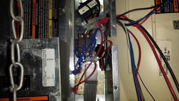 Help locating 24VAC common wire on Trane Air Handler - DoItYourself