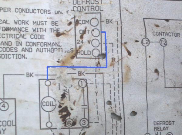 Heat pump defrost board wiring question - DoItYourself