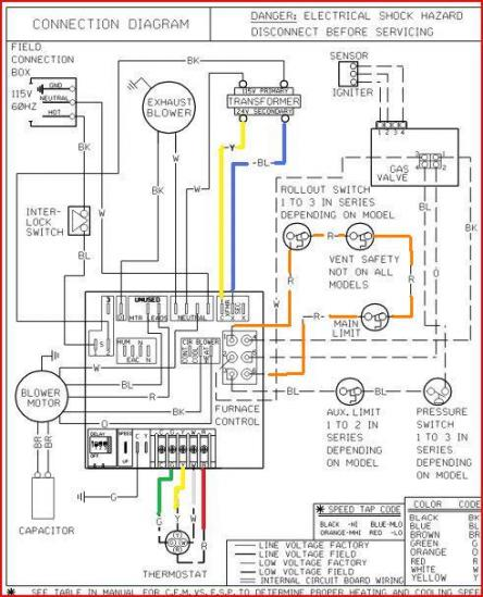 wiring schematic of electric heat indoor blower with 2 heat elements hvac wire diagram