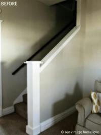 How to on making closed basement staircase into an open ...