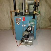 Oil Furnace Hot Water Boiler, Oil, Free Engine Image For ...