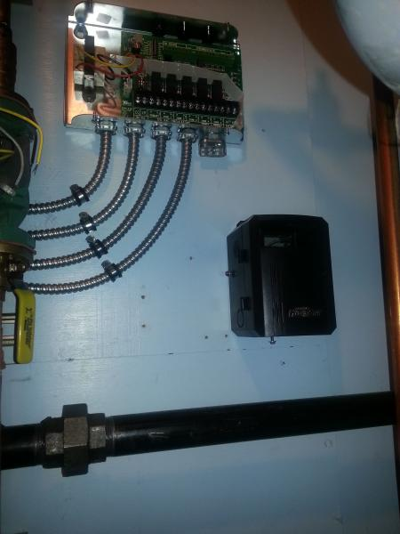 Need help wiring a Taco SR504, Hydrostat 3250,Boilemate to a Weil