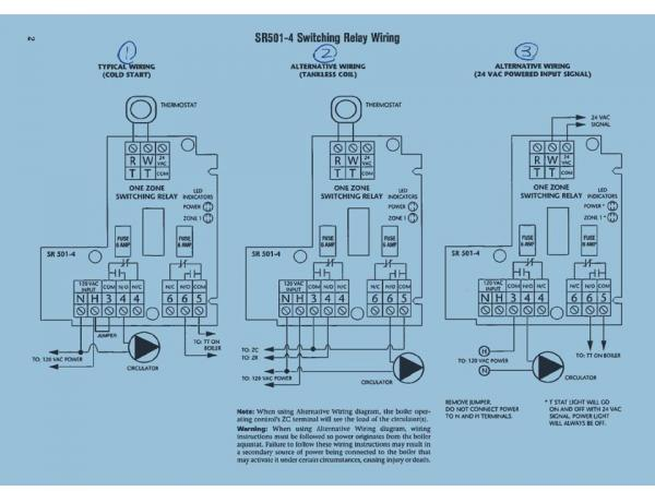 taco thermostat wiring