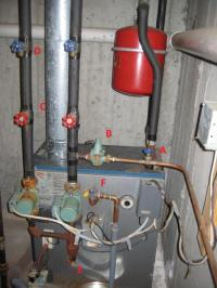 gas furnace - general questions / flush / bleed / pressure ...